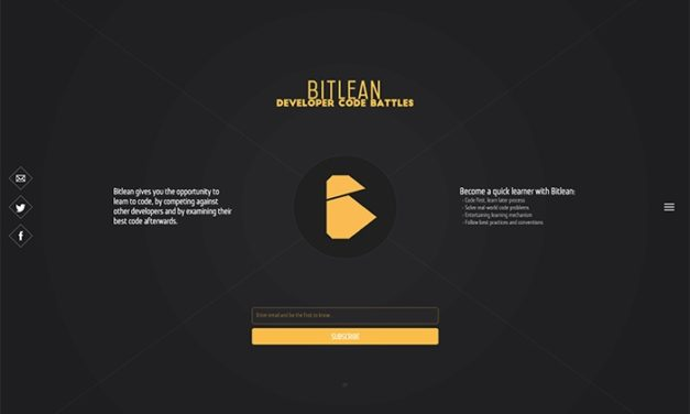 Website Design of Bitlean – A Code Game