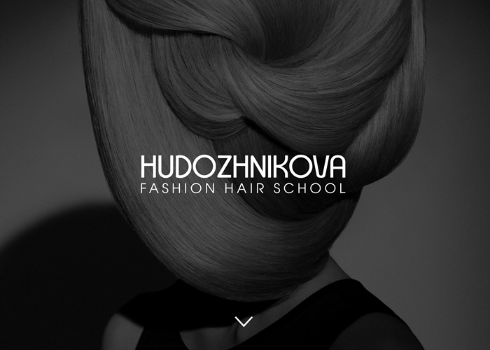 Fashion Website Design – Hudozhnikova Hair School