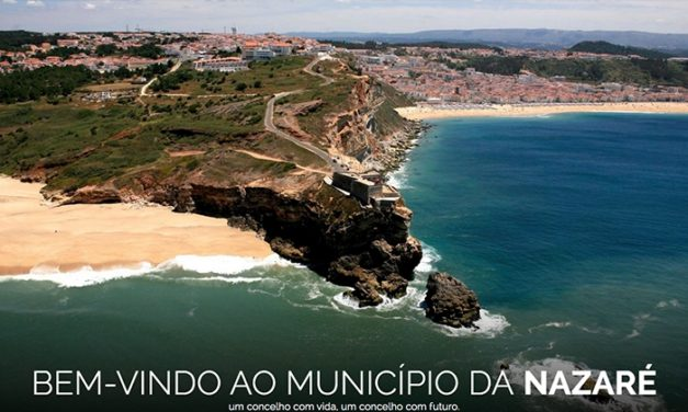 Municipality Website Design – Câmara Municipal da Nazaré