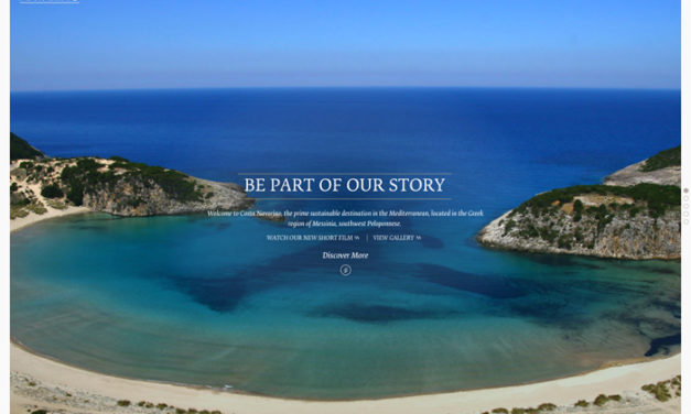 Destination Website Design- Costa Navarino