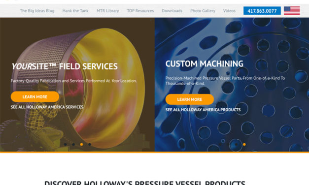 Business Website on WordPress  – HOLLOWAY AMERICA