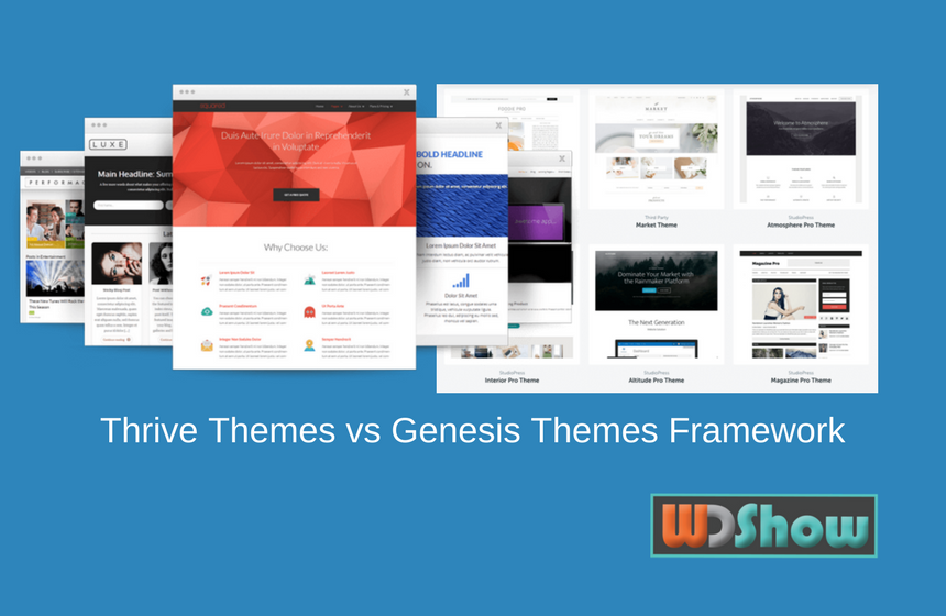 Thrive Themes vs Genesis Theme Framework: Choose the Best one for your Website?